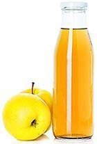 Vinaigre de cidre de pomme et pommes