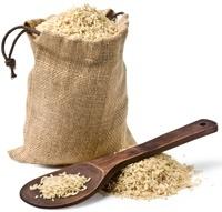 Sac de riz brun