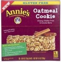 Boîte de barres de biscuits sans gluten
