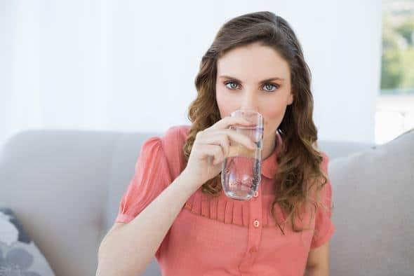 Brunette, eau potable