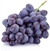 Grappe de raisins violets