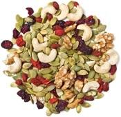 Fruits secs, noix et graines