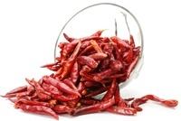 Piment rouge chaud