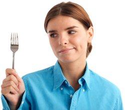 Femme affamée