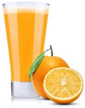 Oranges au jus d'orange