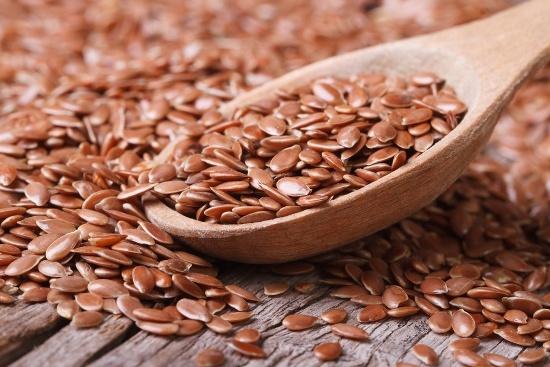 Cuillère aux graines de lin